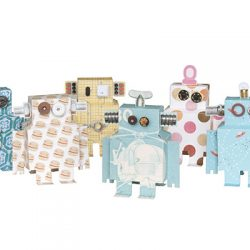 Papieren robots Studio Ditte hoge resolutie verkleind