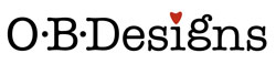 O.B. designs logo