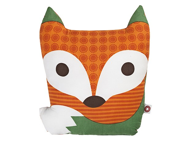 Kussen oranje vos Rufus