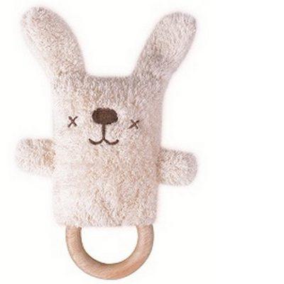 O.B. Designs Rammelaar Bijtring Dingaring Bonnie Bunny