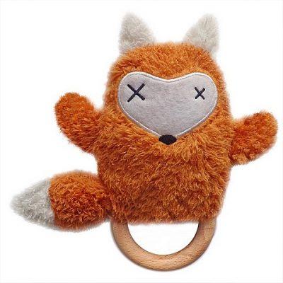 O.B. Designs Rammelaar Bijtring Dingaring Fox