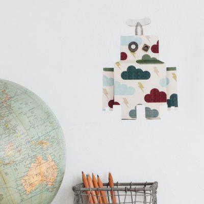 Studio Ditte Robot muursticker donderwolk wolk