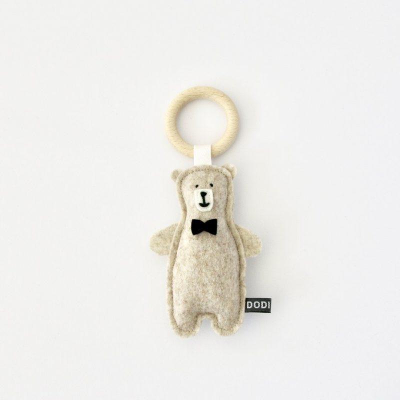 Rammelaar:bijtring vilt Mr Teddy