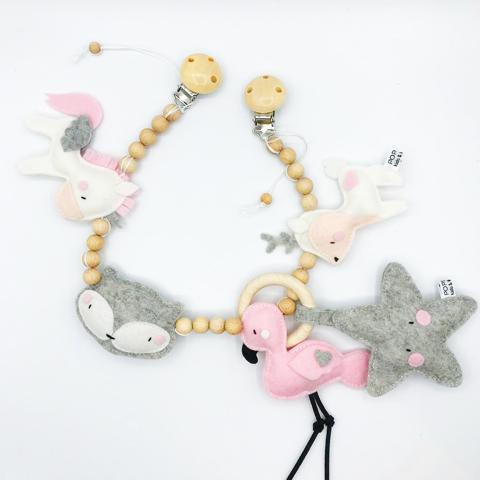 Wagenspanner vilt unicorn hertje flamingo en vosje