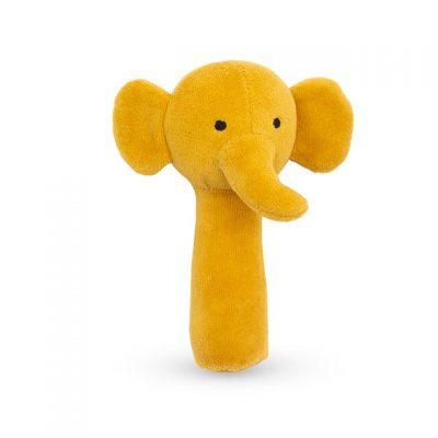 Jollein rammelaar olifant okergeel