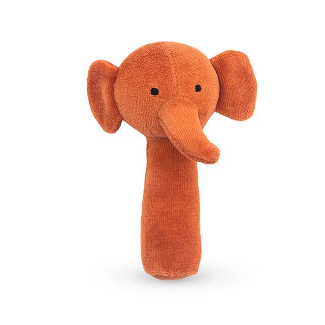 Jollein rammelaar olifant roestbruin