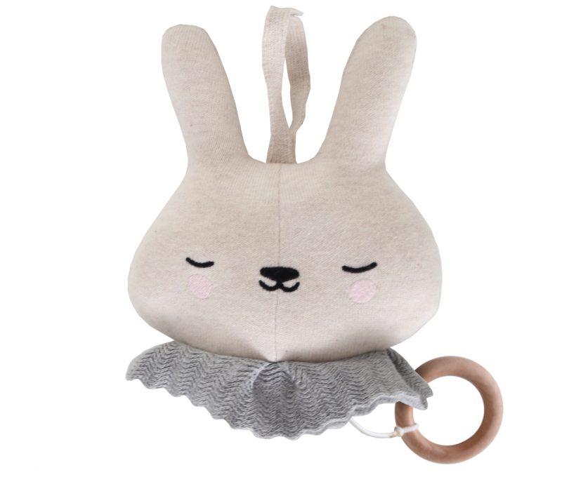 Eef Lillemor muziekdoosje Circus Bunny